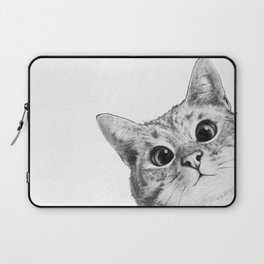 sneaky cat Laptop Sleeve