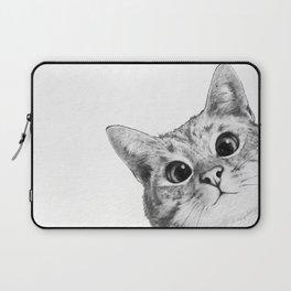sneaky cat Laptop Sleeve