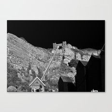 East Hill Cliff Railway Canvas Print