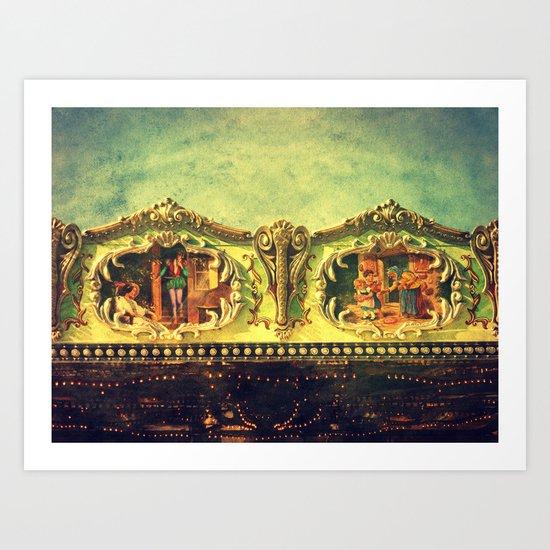 Auf dem Jahrmarkt (1) Art Print