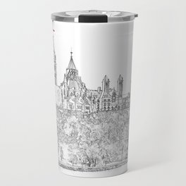 Parliament Hill In Ottawa Travel Mug