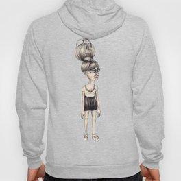 the bun hairstyle bag · die dutt tasche · stanandthepets Hoody