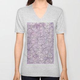 Crossing Paths_Purple Unisex V-Neck
