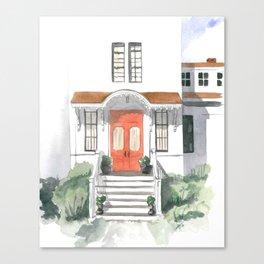 Rockport Red Door Canvas Print