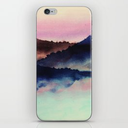 mountainous candy iPhone Skin