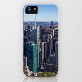 New York City at Empire State Building iPhone Case