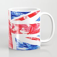 uk Mugs featuring UK by arnedayan