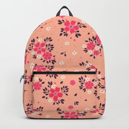 17 Floral pattern Backpack