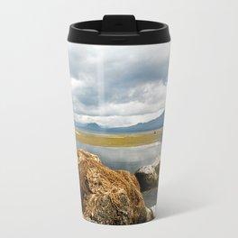 Off the shores of Lake Atitlan Metal Travel Mug