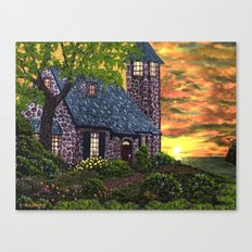 Essex House Lighthouse by Ave Hurley  Canvas Print