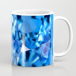 FACETED LONDON BLUE TOPAZ GEMSTONES Coffee Mug