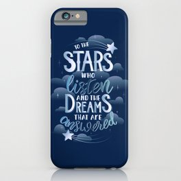 Night Court Book Quote ACOTAR iPhone Case