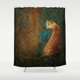 The Watcher Shower Curtain