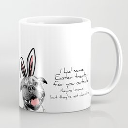 Happy Staffy Easter Coffee Mug