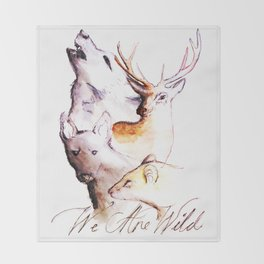 The Marauders - We Are Wild Throw Blanket