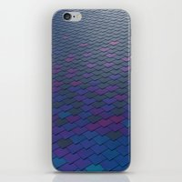 scales iPhone & iPod Skins featuring Scales by Sahara Novotny