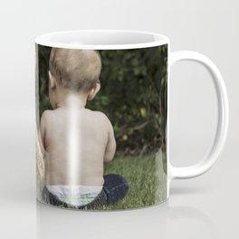 Baby and Teddy Bear Coffee Mug