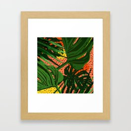 Jungle Dreamer Framed Art Print