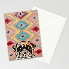 PUG Kilim Stationery Cards