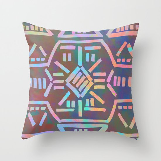 Moonrise - Opal Throw Pillow