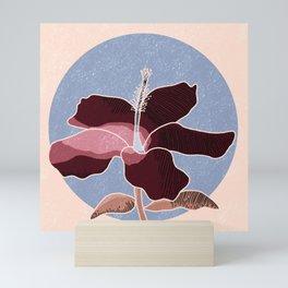 Hibiscus // Hibiscus Flower Limited Palette // Herbal Tea Love Mini Art Print