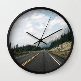 Road to Jasper Park Wall Clock