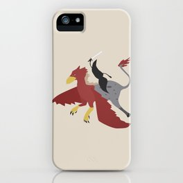 Mythical Mustache iPhone Case
