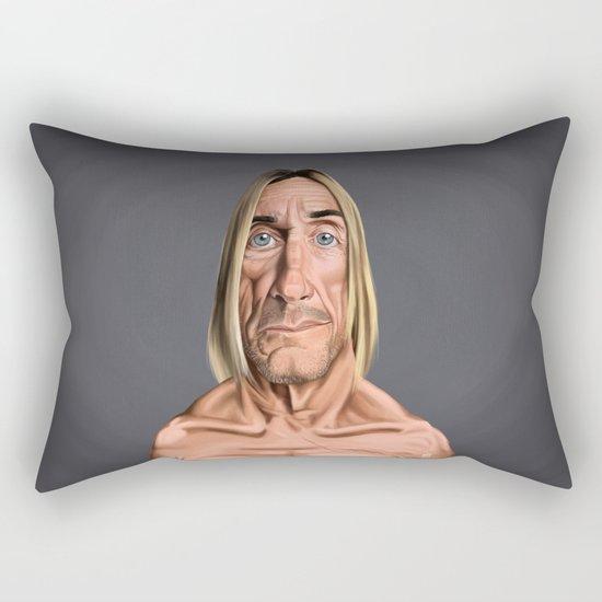 Celebrity Sunday ~ Iggy Pop Rectangular Pillow