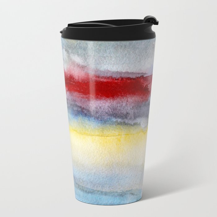 Touch of red Metal Travel Mug