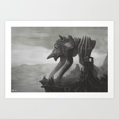 Alien Scout Art Print
