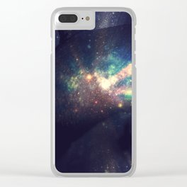 Out Of This World Breasts Clear iPhone Case