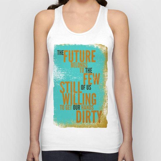 The Future Belongs to You Unisex Tank Top
