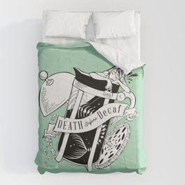 Death Before Decaf Comforters