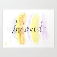 Beloved2 Art Print