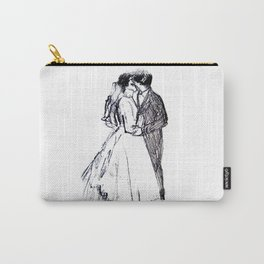 Wedding Kiss Carry-All Pouch