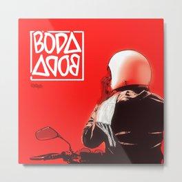 Boda Boda Metal Print