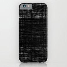 platno (black stripe) iPhone 6s Slim Case