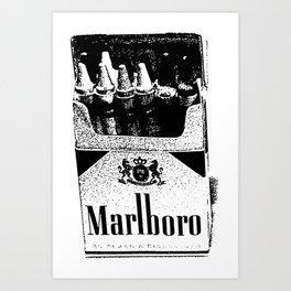 Kids Smoke Crayons I Art Print