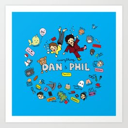 The Vortex of Everything Dan and Phil Art Print