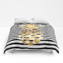 Pineapple & Stripes Comforters