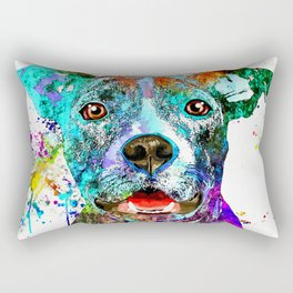 American Pit Bull Terrier Rectangular Pillow