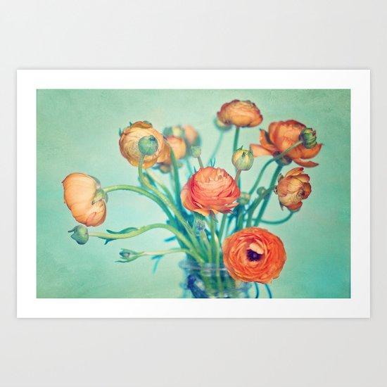 Love & Happiness  Art Print