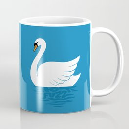 Just The One Swan Actually Coffee Mug