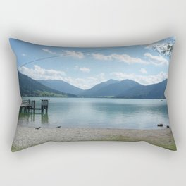 Lake Schliersee Rectangular Pillow