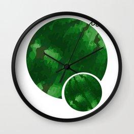 Double Watermelon Tet Holiday Vietnam Lunar New Year Wall Clock