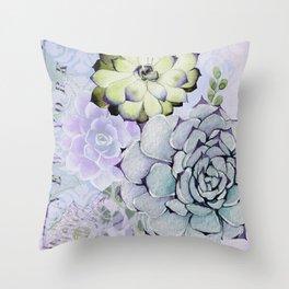 Pekinese Garden Throw Pillow