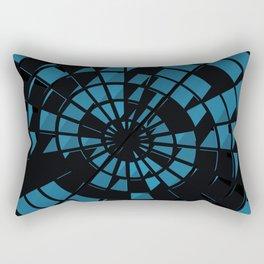 Abstract Dartboard Rectangular Pillow