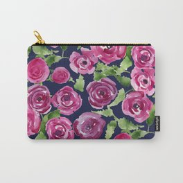 Rose Profusion Bouquet Carry-All Pouch