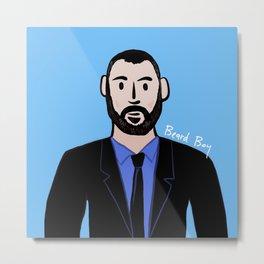 Beard Boy: Dieter Metal Print
