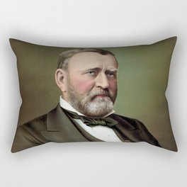 President Ulysses Grant Rectangular Pillow